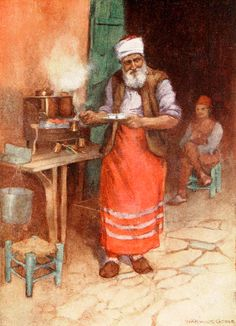 Osmanlı'da Kahve Yapan Ocakcı